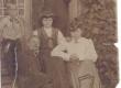 Hans Kitzberg, Rose Järveläinen-Roosmann, Helma Roosmann, Betty Lillestern, tundmatu u 1910. a.  - KM EKLA
