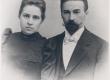 A. Kitzberg abikaasaga Riias - KM EKLA