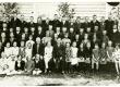 Ernst Enno Höbringi algkooli õpetajate ja õpilastega 1929. a. - KM EKLA