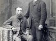K. E.Sööt koos ristiisa Karl Fischeriga   1898  - KM EKLA