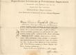 F. R. Kreutzwaldi Tartu Ülikooli lõpudiplom 9. IX 1833 - KM EKLA