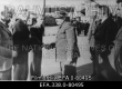 NSV Liidu Ülemnõukogu Presiidiumi liikme A. Ždanovi lahkumine Tallinnast, vasakult 1. A. Jõeäär, 2.N. Andresen, 3. O. Samma, 4. A. Ždanov. 25.06.1940. - EFA