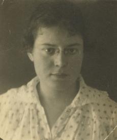 Hilda Kärner-Luberg 1919. a