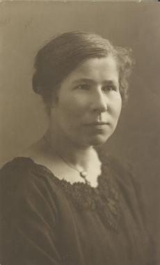 Jaan Kärneri õde Anna 19. I 1922