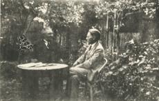 August Kitzberg tuttavaga