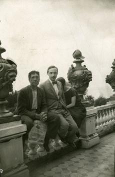 Igor Severjanin-Lotarev, Valmar Adams ja Felissa Lotarev-Kruut