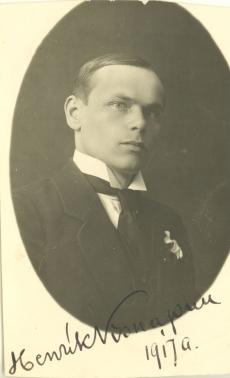 Henrik Visnapuu 1917. a