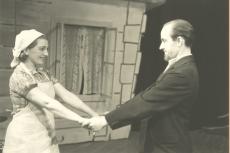 """A. Kitzbergi """"Neetud talu"""" Väiketeatris 1943/44"""