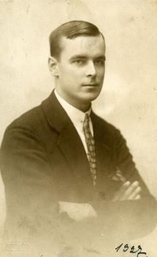 Betti Alveri vend Martin Alver 16.10.1927 Tallinnas