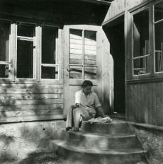Betti Alver Valgemetsas 19. augustil 1951. a