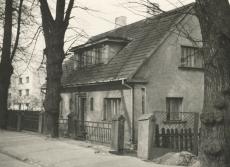 Jaan Kärneri viimane elukoht - Tartu, Laulupeo (end. Kingissepa) tn 3 1960. a