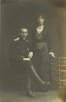 Karl ja Alma Ast  (snd Anni) Peterburis 1916. a