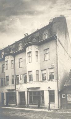 K. E. Söödi maja Tartus, Promenaadi tn 6 (ehit 1912), 1913