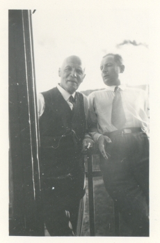 K. E. Sööt (vas) ja Maks Päss