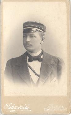 Ernst Enno üliõpilasena