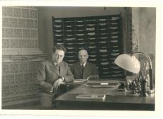 Ungari Instituudis Tartus juuni 1940. Dr. J. Fazekas ja K. E. Sööt
