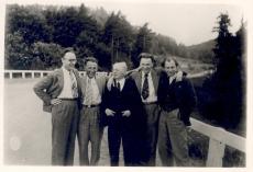 Eduard Hubel Läti ajakirjanikega