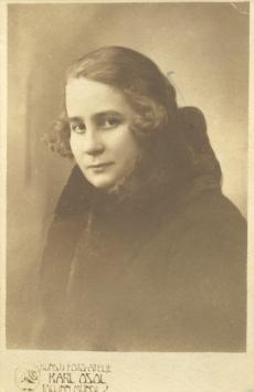 Marta Alle, August Alle õde 1930. a