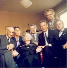 Artur Adson, Hedda Hacker, Marie Under, Johannes Aavik, Aleksander Aspel, Aleksandra Aavik