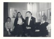 Vasakult: Silvia Aavik, Aleksandra Aavik, Marie Under