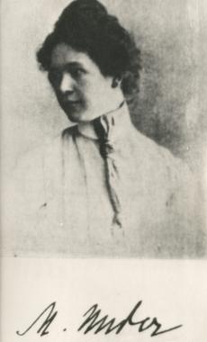 Marie Under [1905. Moskvas]