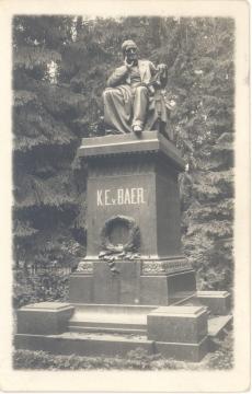 Baer'i, K. E. v. Mälestussammas Tartu Toomel.