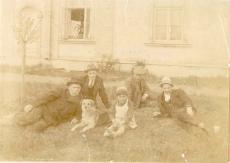 Oskar ja Hillar Kallas, V. Ernits, Põld jt. 1918