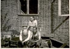 Ernst Peterson-Särgava, Juta Särgava ja Paul Särgava, 1950