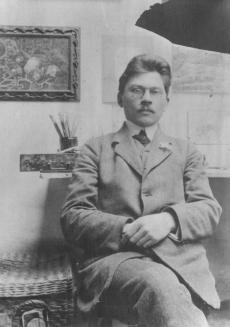 Friedebert Tuglas, 1912