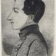 Gogol. Portree profiilis, joonistus 1827