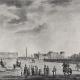 Peterburi Marsi väljak, gravüür, 1800.-te algus
